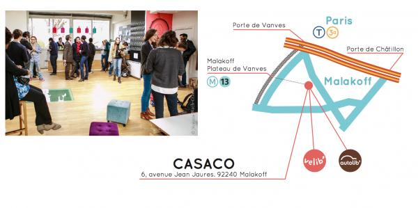 Plan d'accès Casaco